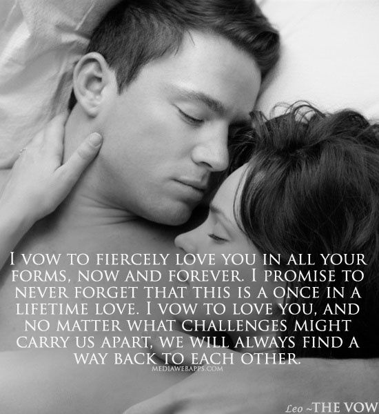 Morning Quotes The Vow Words Morning Quotes Love Quotes