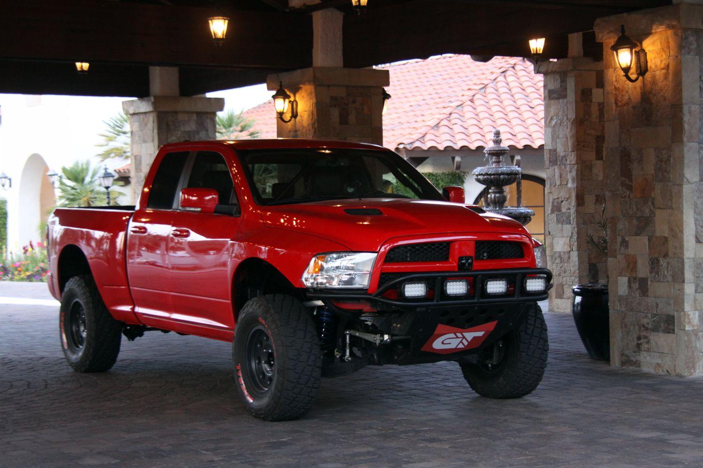 Dodge Ram Runner >> Ramrunner Red Lifted Truck Ram Runner Ram Trucks Dodge