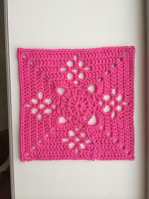 Ravelry Victorian Lattice Square Free Pattern By Destany Wymore