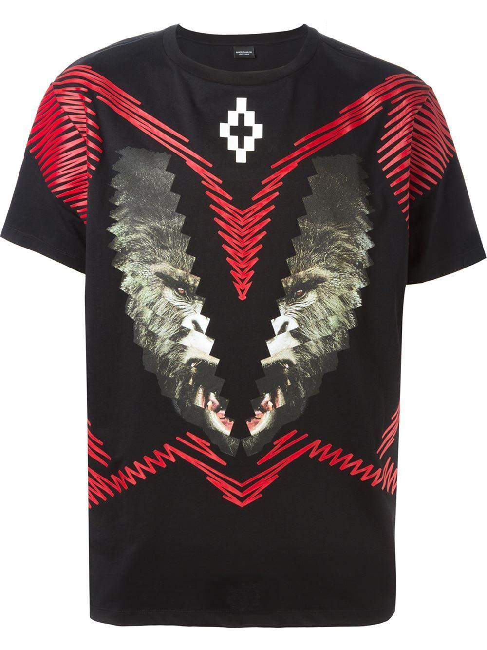 Marcelo Burlon County Of Milan Los Alerces T Shirt O Farfetch Com