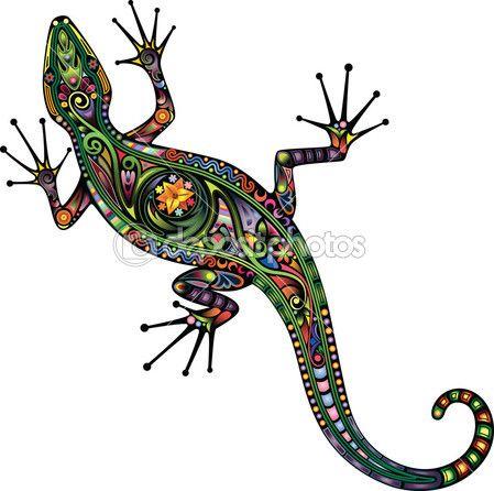 Lagarto | lagartija | Pinterest | Lagartijas, Lagartos y Arte