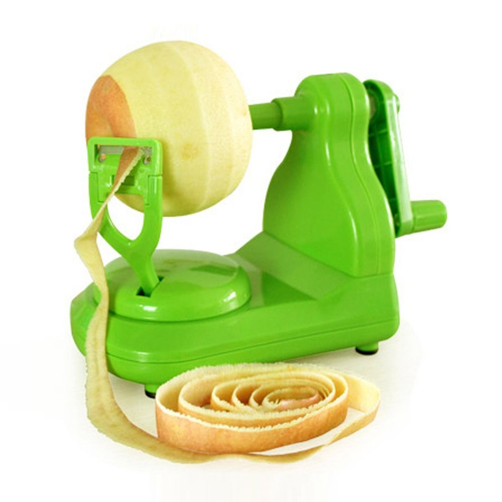 Green Manual Rotate Apple Peelers Cooking Tools Kitchen Accessories Gadgets  Fruit Vegetable Tools Peel The Apple