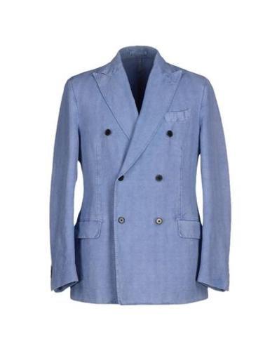 #Piombo giacca uomo Celeste  ad Euro 338.00 in #Piombo #Uomo abiti e giacche giacche