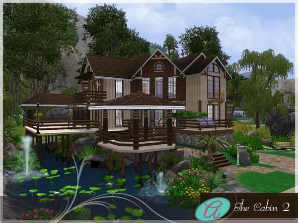 The Cabin 2 by aloleng - Sims 3 Downloads CC Caboodle | The