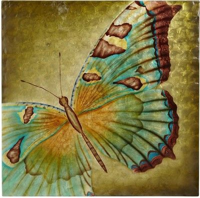 Pier One Capiz Butterfly Wall Decor - Pier 1 Imports - Polyvore ...