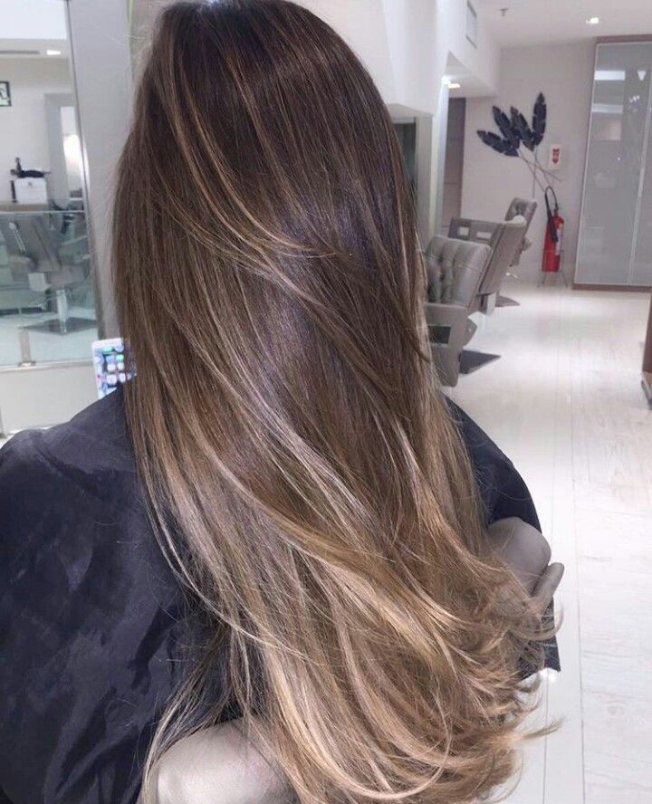 Brunette Balayage & Hair Highlights Picture Description pinterest: Phoe - #Hairstyles, Hairstyles ,