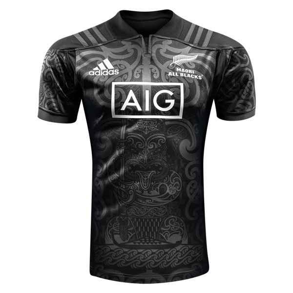 1fa768ac251 Maori All Blacks 17/18 Home Rugby Jersey   Cool things   Rugby ...