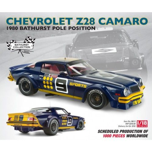Chevrolet Z28 Camaro 1980 Bathurst Production Canceled Australian Cars Camaro Bathurst