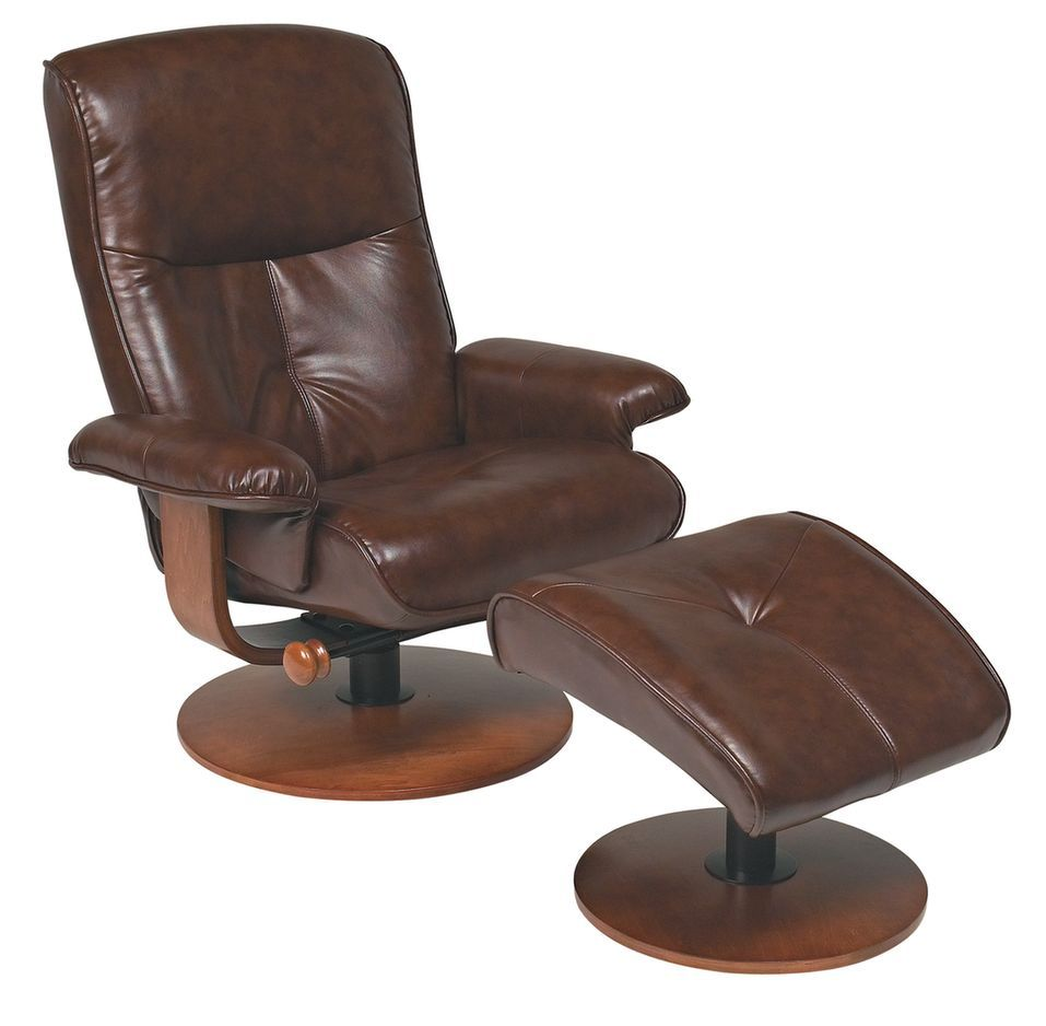 Nexus Series Faux Leather Swivel Recliner And Ottoman Available In 4 Colours Products Swivel Recliner Outdoor Lounge Chair Cushions Swivel Recliner Cha