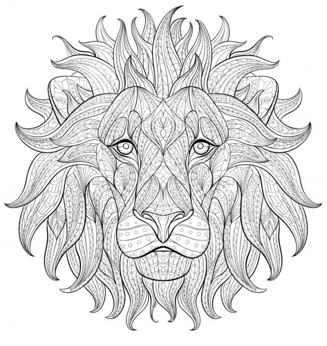 mandalas-con-animales-13 | Colorear | Pinterest | Mandalas para ...