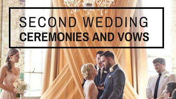 Second Marriage Ceremony Wedding Ceremony Script Wedding Ceremony Marriage Reception