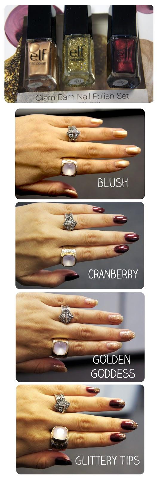 NEW elf Nail Polish Set - Glam Bam | Nails nails nails! | Pinterest