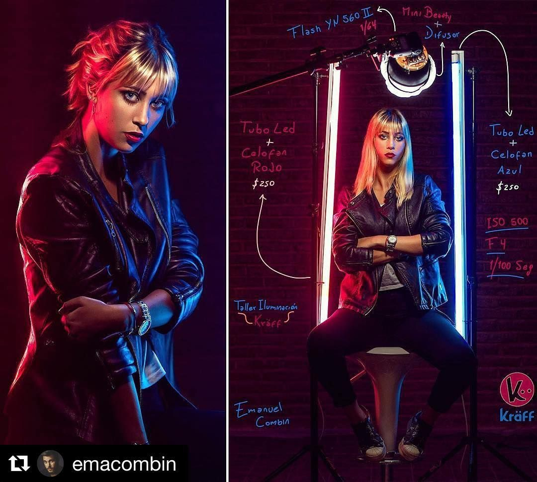 Behind the scenes by @emacombin : #bts #studio #lighting #makeportrait #iso1200 #led #flash #kraff #photo #pic #picture #snapshot #art #beatiful #creative #phlearn #fstoppers #creativelive #famousbtsmag #all_shots #discoverthecreative #portrait #exposure