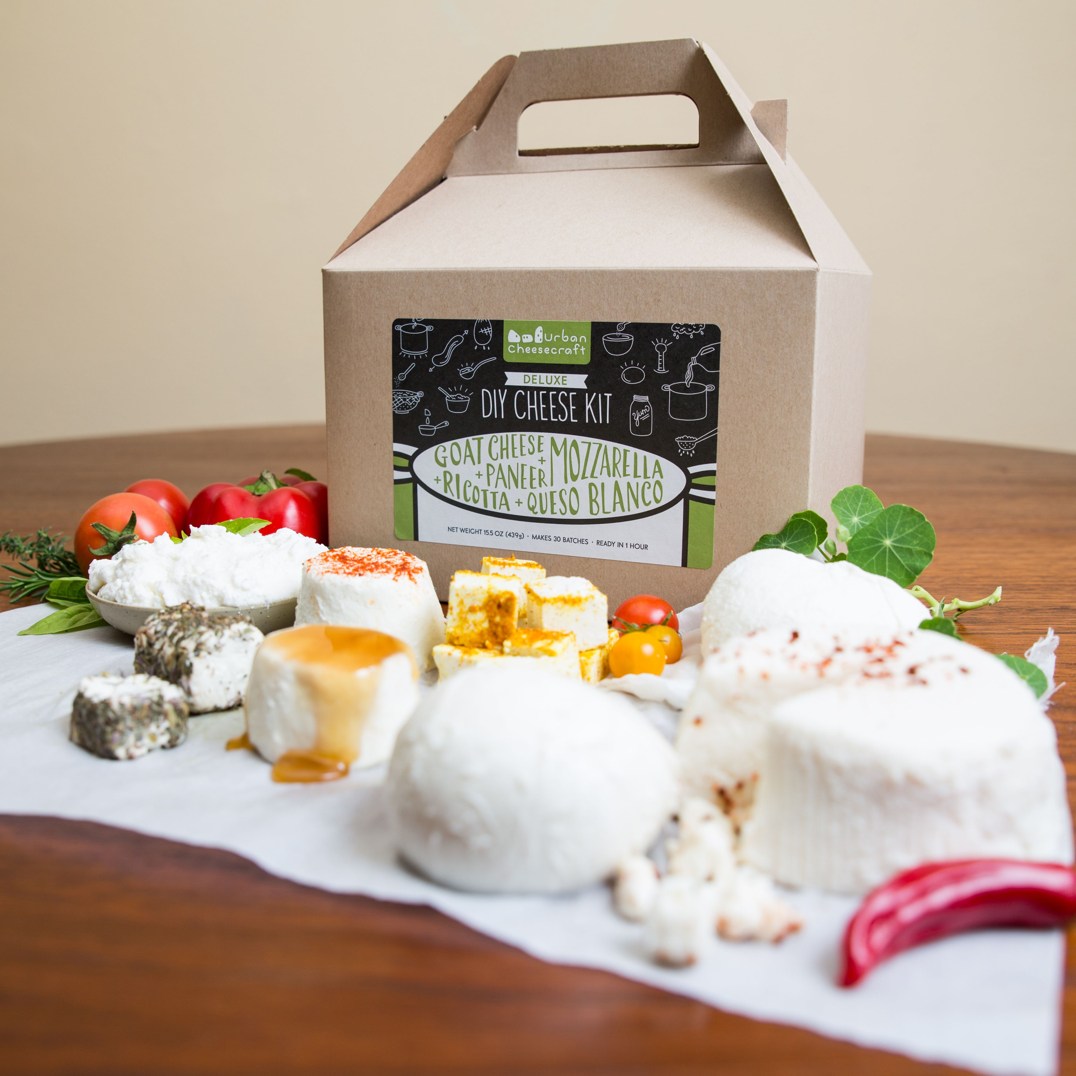 This Huge Kit Makes 5 Cheeses And Like Most Bulk Purchases It S More Economical It Is The Ultimate Starter Kit A Diy Cheese Cheese Making Kit Meal Kits Diy
