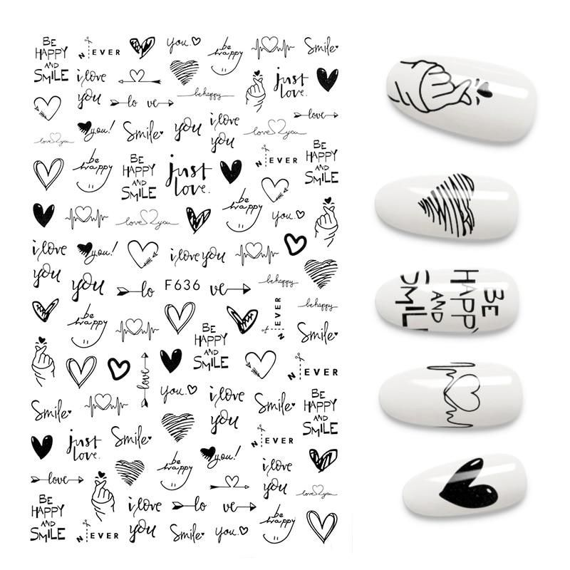 Bring Your Fingertips To Life- With our self-adhesive nail art, we pride ourselves in the quality and options available for you here and we're positively confident you won't be disappointed in what you choose All designs have been handpicked by the team at The House Of Wolf and you can rest assured that we have chosen only the finest options How To Use (Please safely use a knife to cut out the stickers if you which to separate them into groups and use tweezers to place them on the nails) 1. Tri