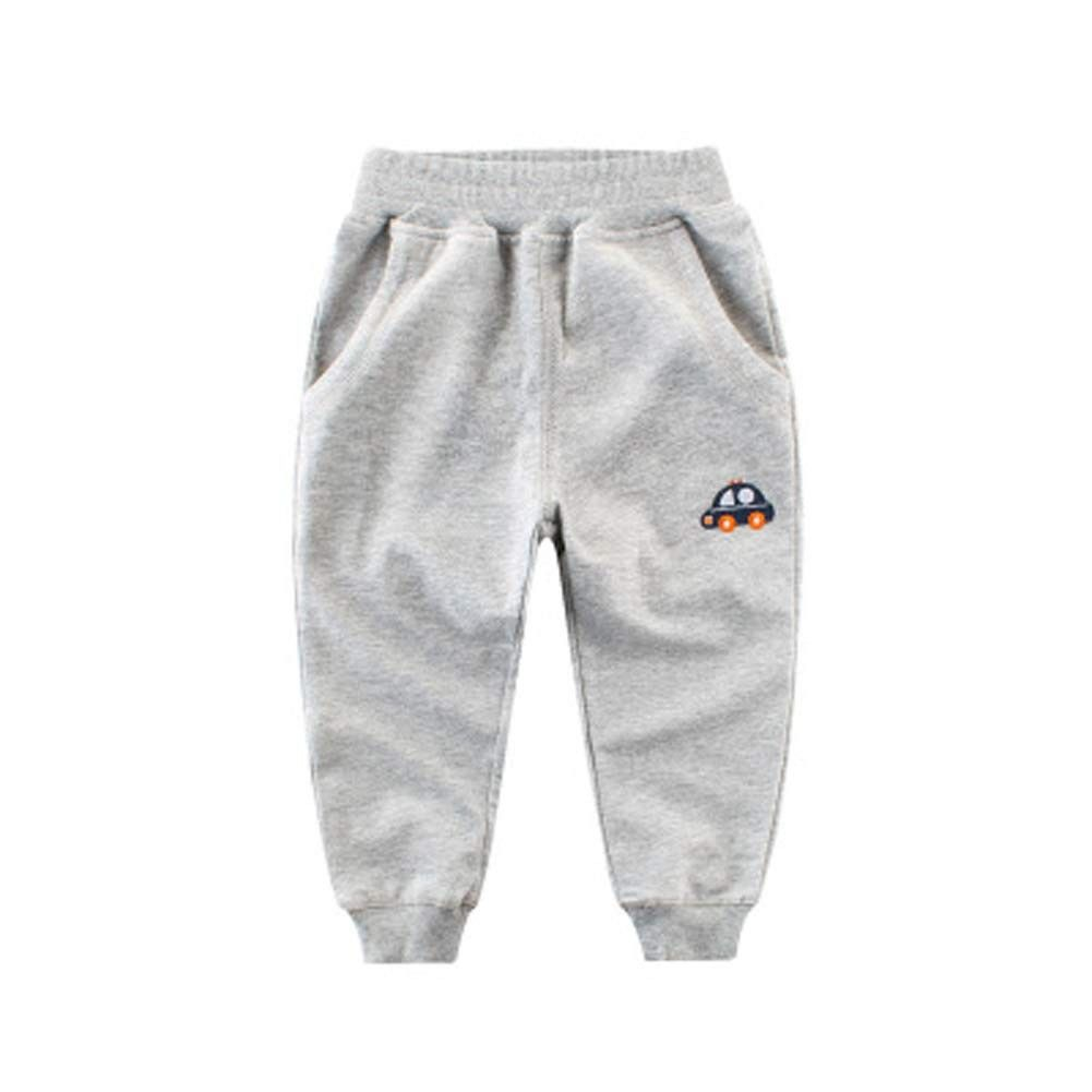 OJUF Children Cartoon Printed Soft Elastic Sweatpants Sport Jogger Active Pants