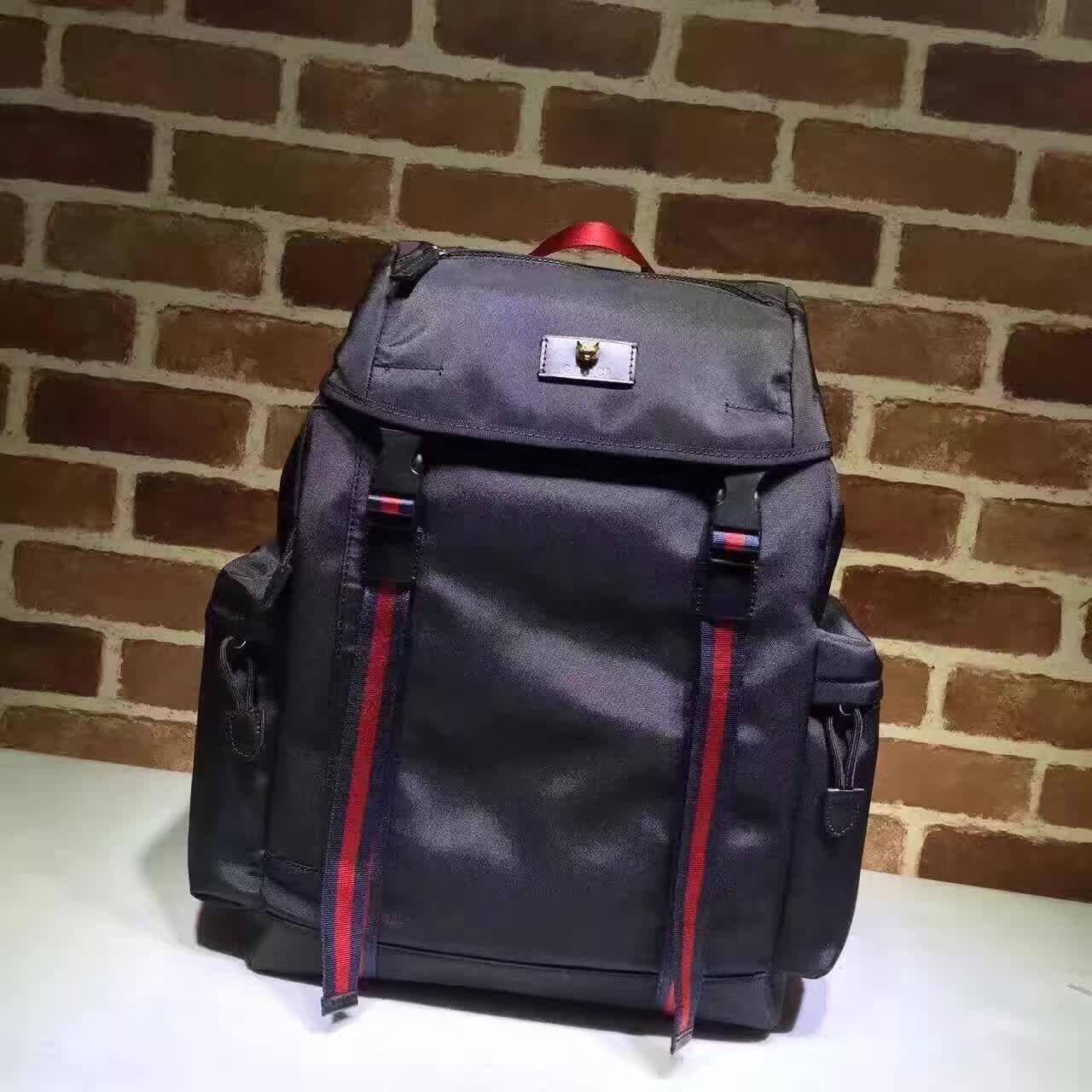 Gucci Techno Canvas Techpack 429037 Black 2016  d00d70610b94a