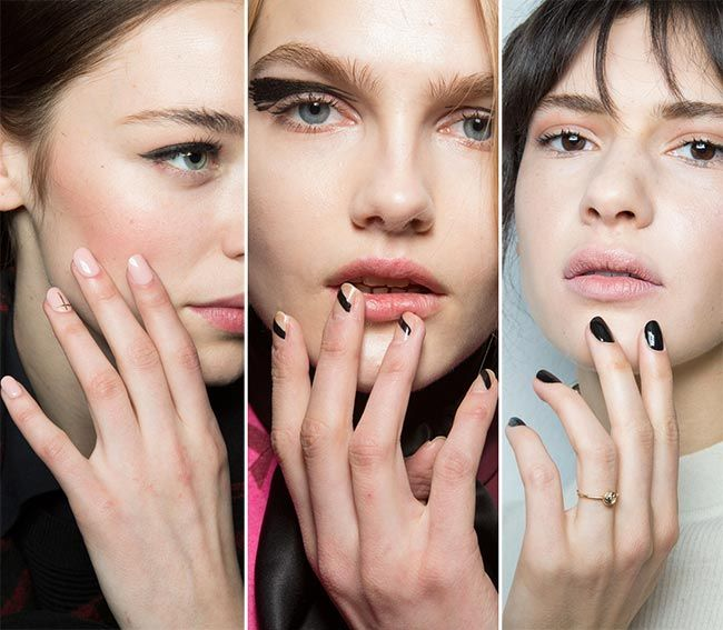 Fall Winter 2017 2016 Nail Trends