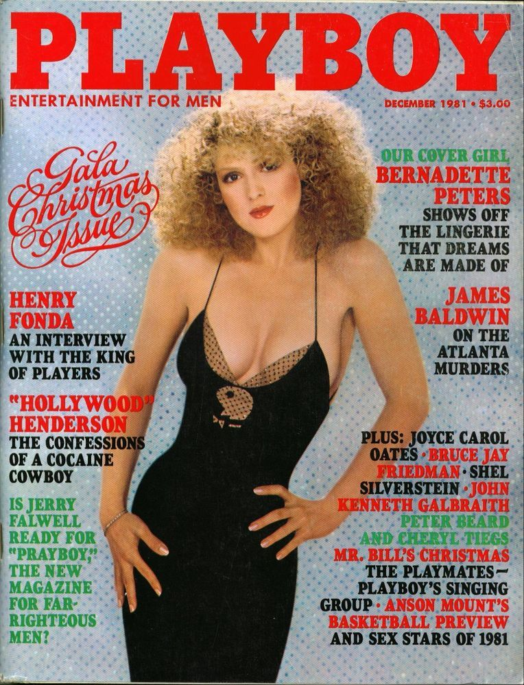 free bernadette peters playboy photos