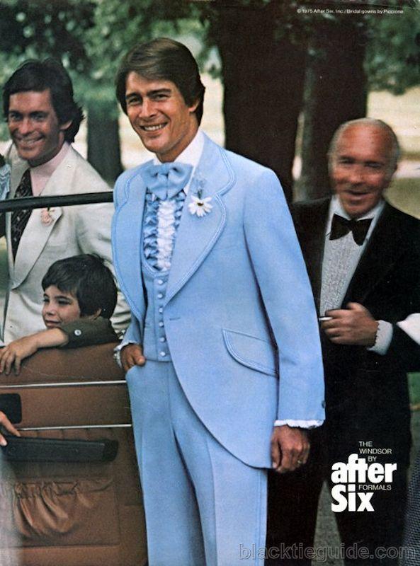 Men Wear 80s Formal