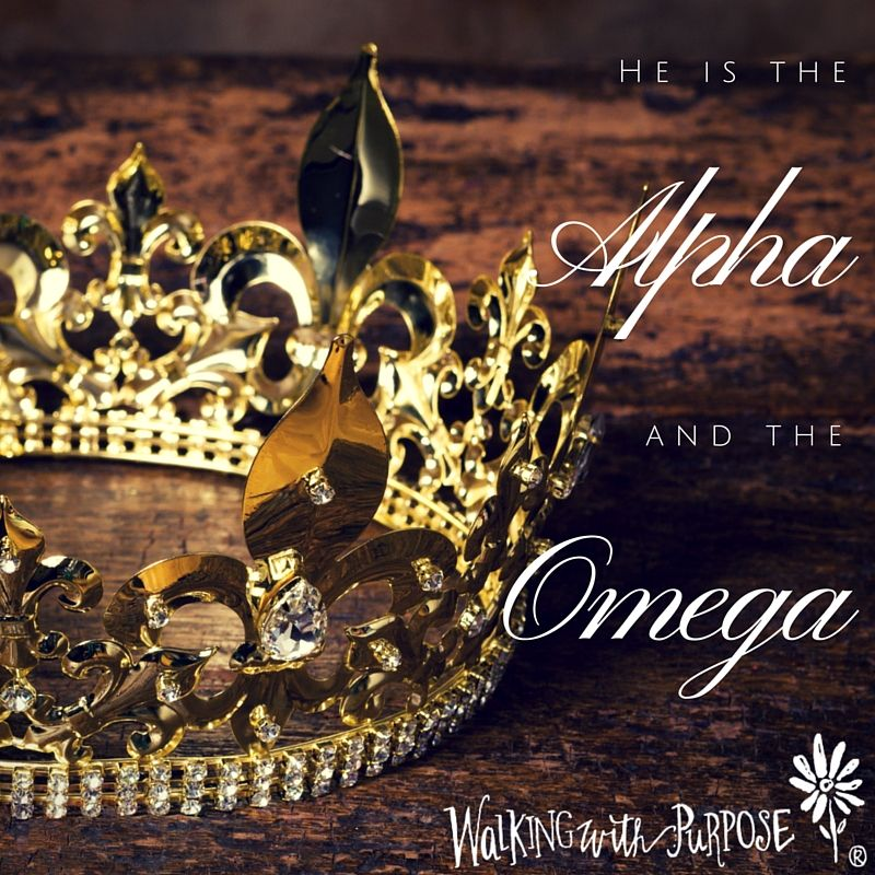 He Is The Alpha And The Omega