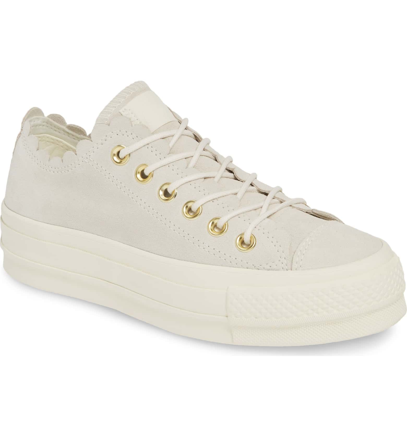 womens frilly converse