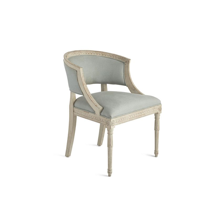 Gustavian Tub Chair In 2019 Chair Upholstered Accent