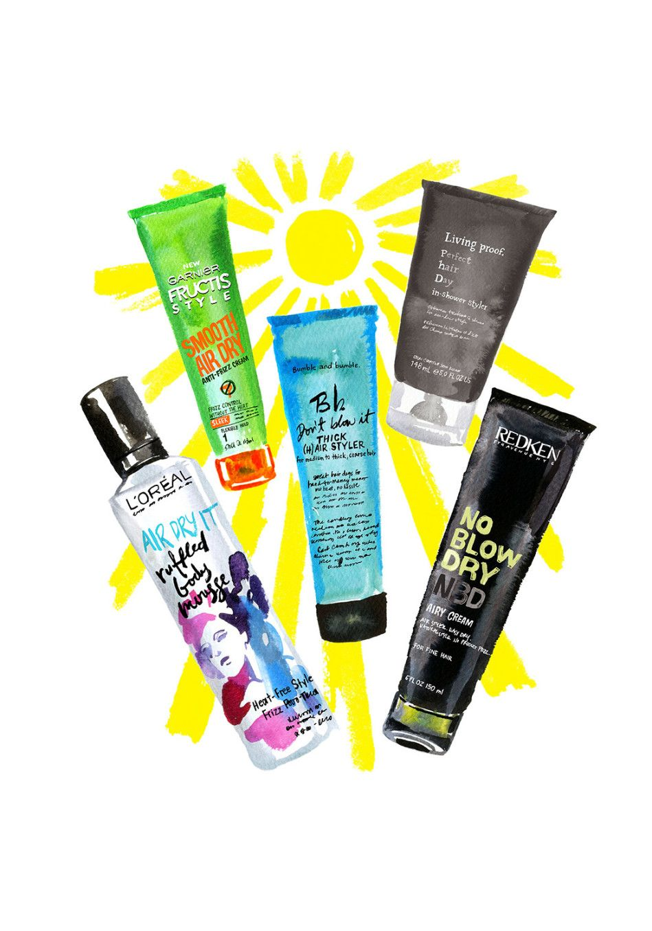These AirDry Products Will Leave Your Hair Shiny and