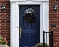 Benjamin Moore Hale Navy Front Door Red Brick Google Search