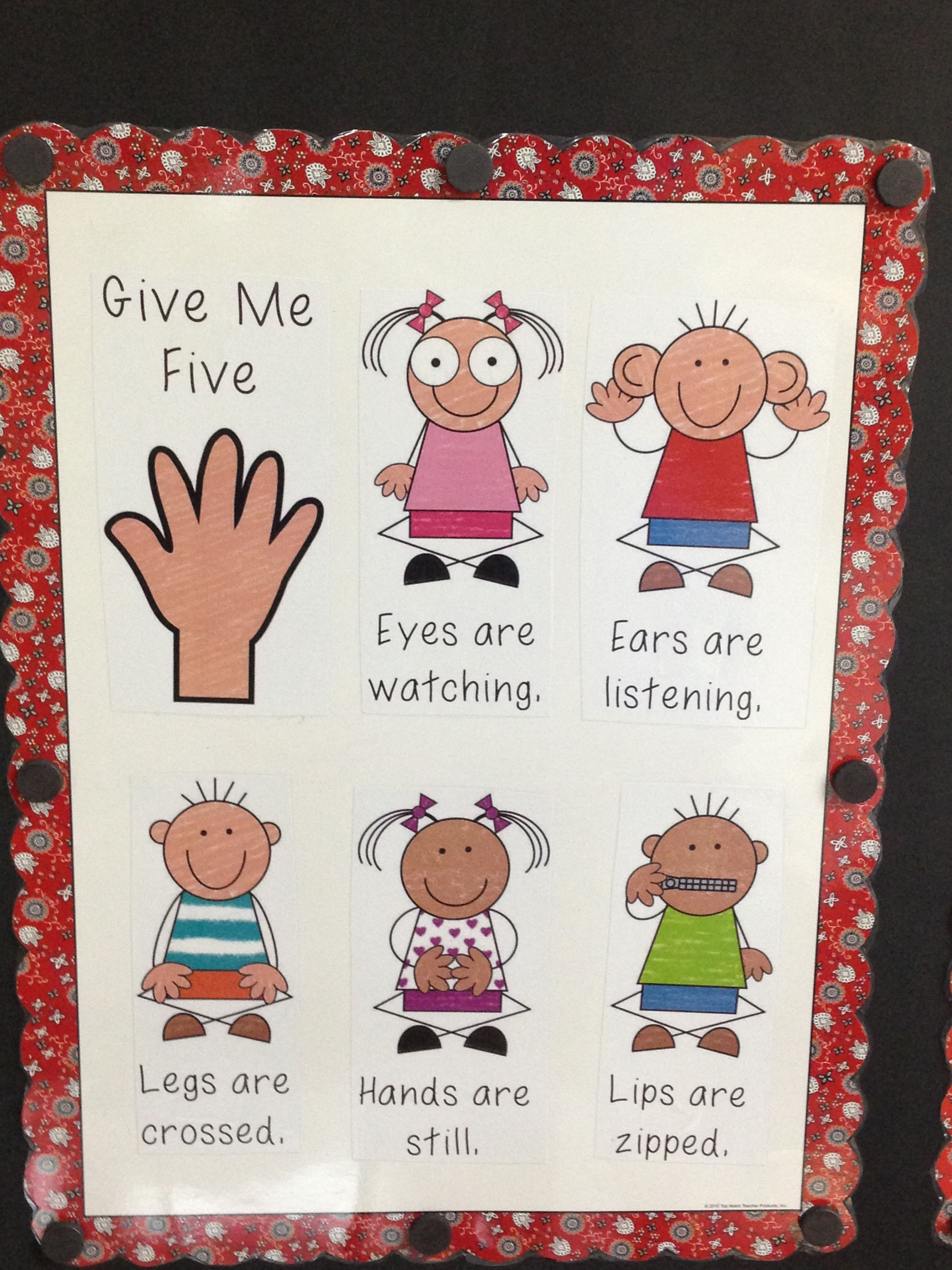 My Give Me 5 Poster