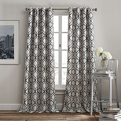 Rutherford Grommet Window Curtain Panel Panel Curtains Window Curtains Curtains
