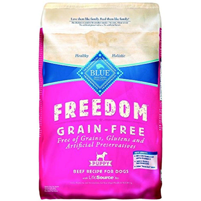 Blue Buffalo Blue Freedom Pup Beef Grain Free Bag 11 Lb You