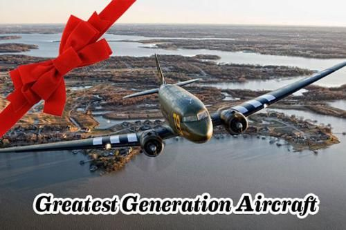 Christmas Light Night Flights In WWII C47 Now Booking