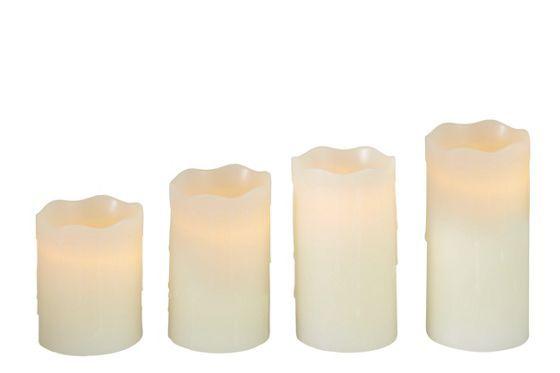 LED Kerzen Set - Stimmungsvolles Licht für kalte Tage