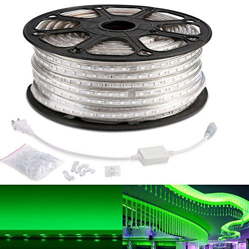 Le 164ft Flexible Led Strip Lights Green 3000 Units Smd 5050