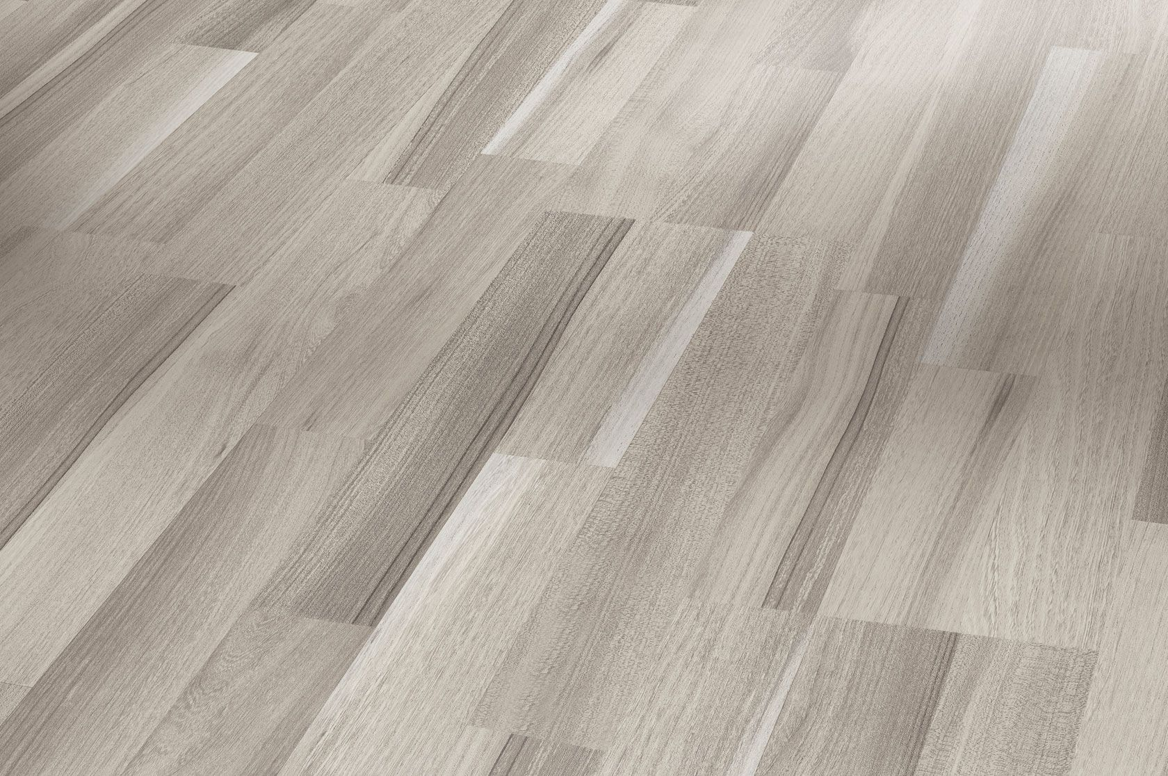 Laminate Flooring Basic 200 Acacia grey block 3plank matt