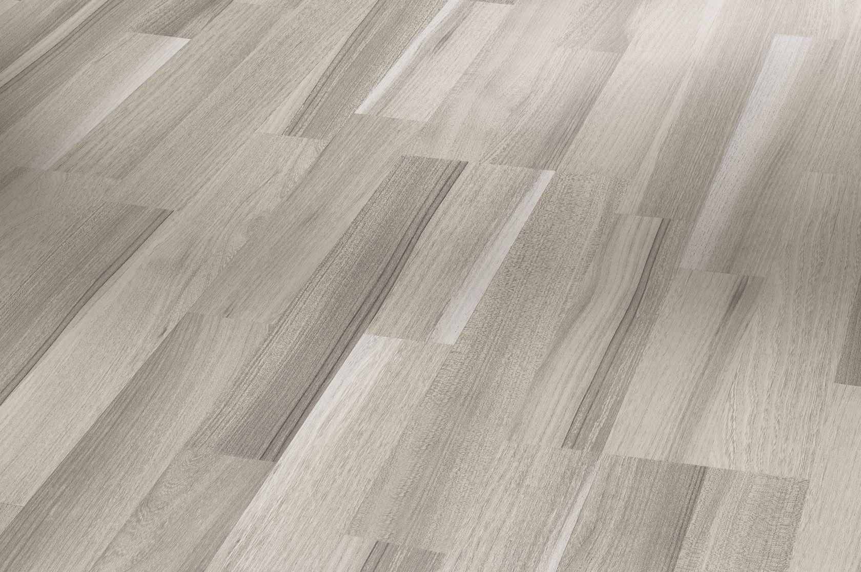 Laminate Flooring Basic 200 Acacia grey block 3plank matt