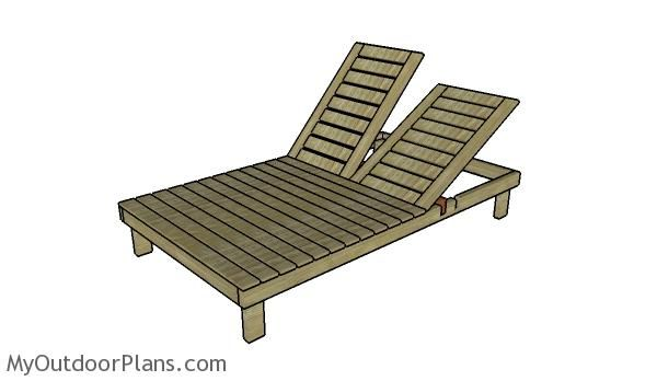 Double Chaise Lounge Plans Myoutdoorplans Free Woodworking Plans And Proj Double Chaise Lounge Double Chaise Lounge Outdoor Chaise Lounge Woodworking Plans