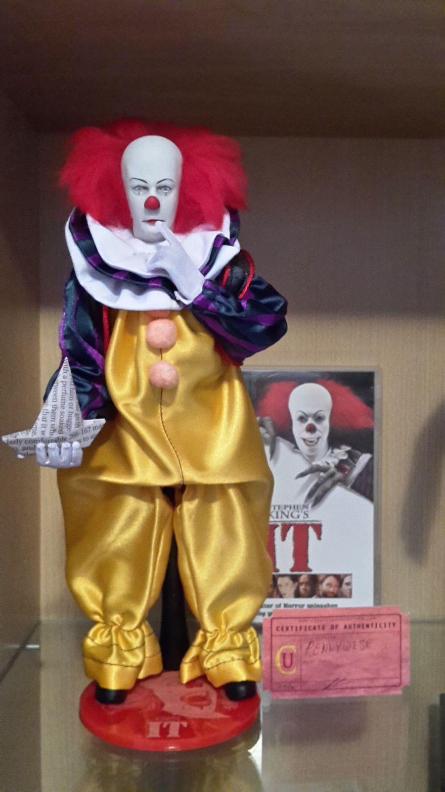 Custom Pennywise Clown 12 Quot 1 6 Figure Stephen King It Tim