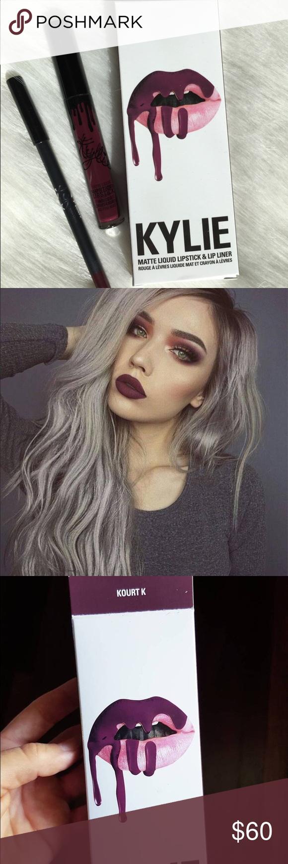 Kourt K by Kylie cosmetics Kourt k by Kylie cosmetics Kylie Cosmetics Makeup Lip Liner