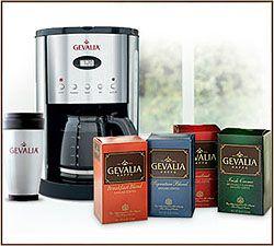Free Gevalia Stainless Steel Coffee Maker
