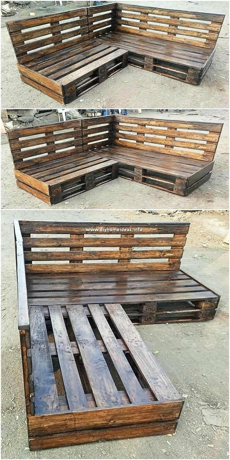 Magnificent Diy Home Furniture Ideas With Wood Pallets Diy Home