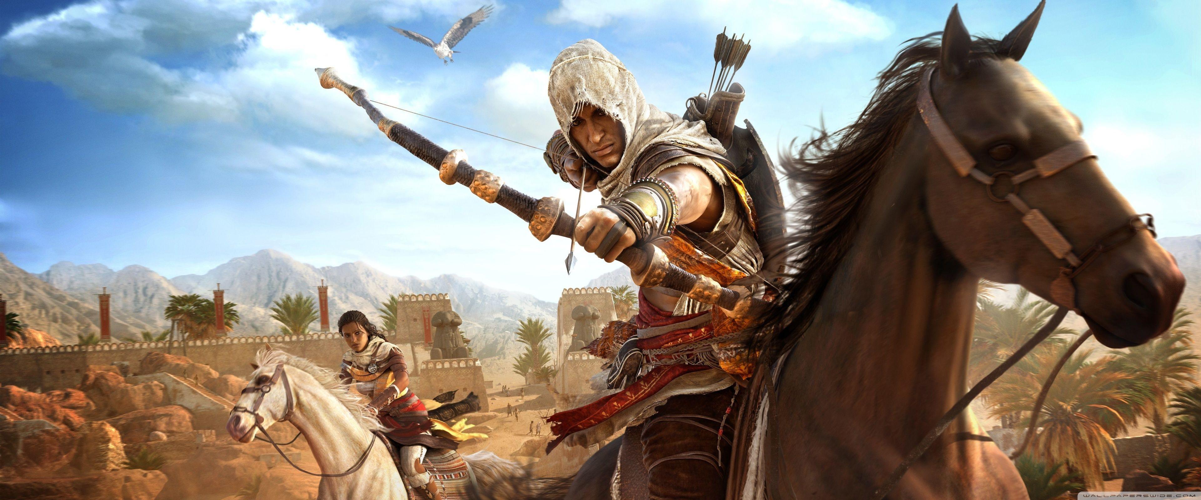 خلفيات سطح المكتب Hd ويندوز 10 Tecnologis Assassins Creed Origins Assassins Creed Assassin