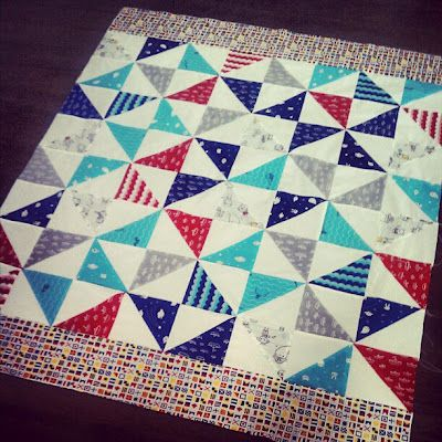 a beginner quilter is born