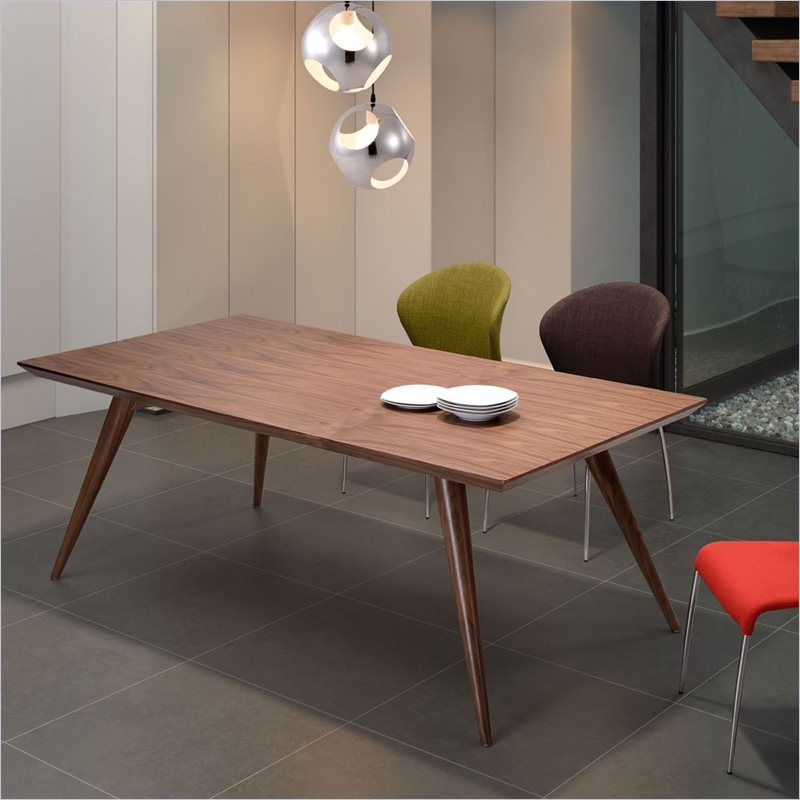 Lowest Price Online On All Zuo Stockholm Dining Table In Walnut