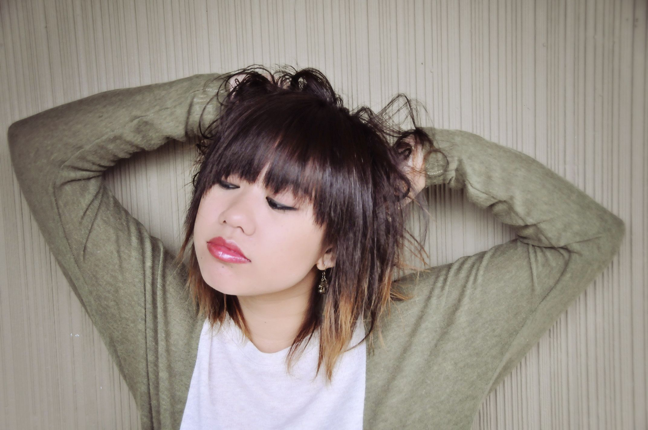 Ombre Short Hair Free Large Images Short Ombre Hair Ombre Hair Asian Ombre Hair