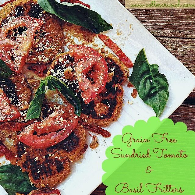 Sun Dried Tomato and Basil Fritters (GF)   Cotter Crunch