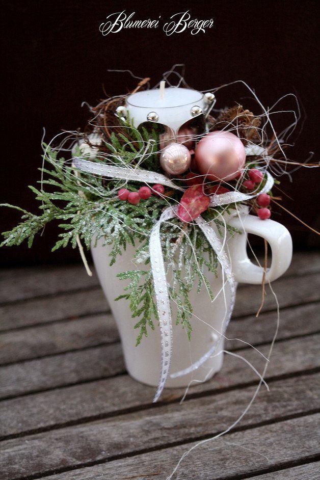 Weihnachtsdeko - :::: Adventsgesteck \