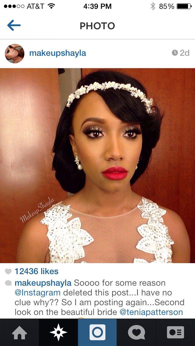 Gorgeous bridal makeup