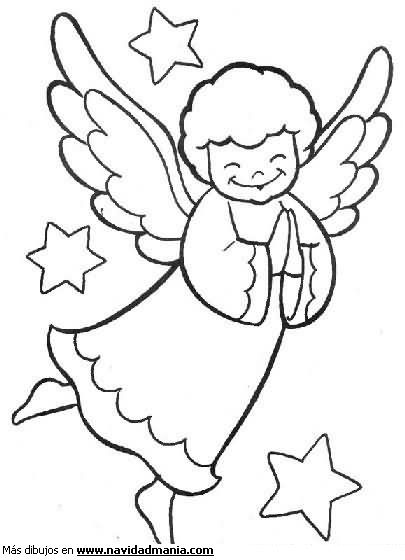 Moldes De Angeles Buscar Con Google Angeles Para Colorear Pesebres Para Colorear Angeles De Navidad